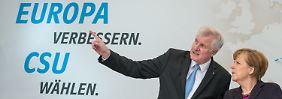 Wahlkampf ohne die CDU: Seehofer zückt letzten Trumpf