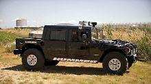Knapp vier Wochen vor seinem Tod kaufte sich der Rapper 2Pac diesen Humvee.