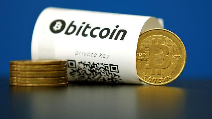 Bitcoins kommen bislang vor allem bei Zahlungen im Internet zum Einsatz.