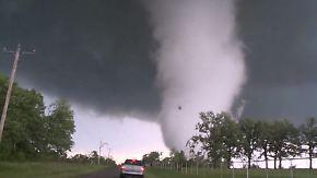 Mindestens zwei Tote: Tornados verwüsten Bundestaaten in den USA
