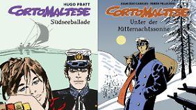 """Die ersten Bände der Reihe sind bereits erschienen, darunter """"Die Südseeballade"""" von Pratt und """"Unter der Mitternachtssonne"""" von Canales/Pellejero."""