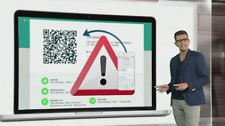 n-tv Netzreporter: Neues Desktop-Whatsapp birgt Gefahren