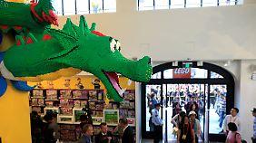 Eröffnung des weltweit größten Ladens: Lego setzt auf China