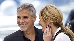 Mit Charme und neuem Film: George Clooney und Julia Roberts verzücken Cannes