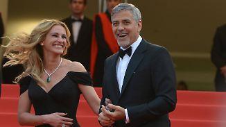 """""""Money Monster""""-Premiere in Cannes: Julia Roberts und George Clooney sprechen über ihre Freundschaft"""
