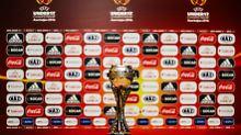 Der Pokal bei der U17-EM in Aserbaidschan wird zwischen Spanien und Portugal ausgespielt.