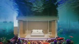 Aufwachen unter dem Meer: Schwimmende Villen sollen neue Attraktion in Dubai werden