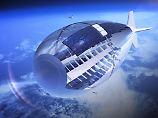 Schweben in 20 Kilometern Höhe: Stratobus soll die Welt von oben ausspähen