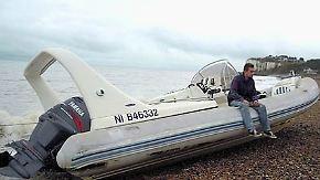 Sehnsuchtsort Großbritannien: Schleppergeschäft boomt auch im Ärmelkanal
