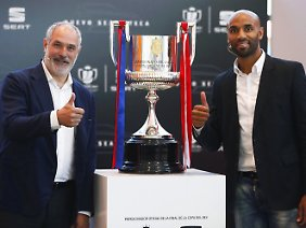 Dass um diesen Pokal gespielt wird, geriet in Spanien in den Hintergrund.