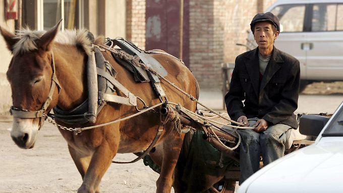 Peking will bis 2020 die Armut im Land besiegen.