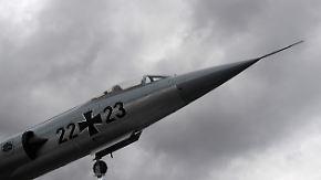 Historischer Pannenflieger: Starfighter kostet 116 Piloten das Leben