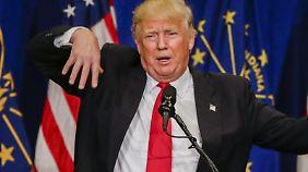 Trump dürfte mit dem Thema noch länger Wahlkampf gegen Clinton machen.