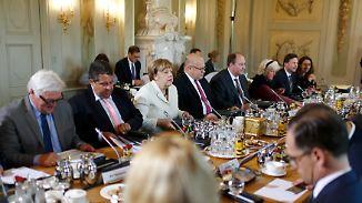 Themen: Digitalisierung und Integration: Kabinett trifft sich auf Schloss Meseberg zur Klausurtagung