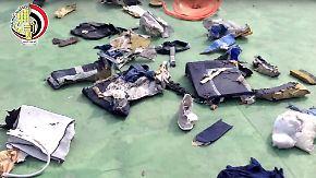 Neue Erkenntnisse zum Absturz: Körperteile deuten auf Explosion in Egyptair-Flugzeug hin