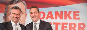 """""""Wir sind heute stärker denn je"""": FPÖ strebt nach dem Kanzleramt"""