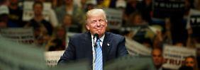 Mehrheit der Delegierten sicher: Trump hat gewonnen