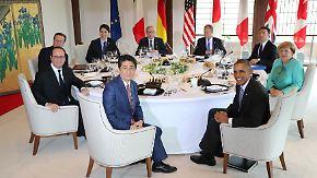 Zu viele Probleme: G7-Gipfel in Japan schwächelt in seinen Beschlüssen