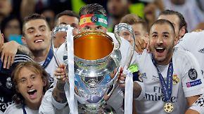Party nach Elfmeter-Krimi: Fans feiern Real Madrids elften CL-Titel