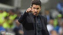 Ronaldo feixt, Juanfran weint: Atléticos Simeone verliert mit Stil