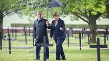 Lehren für die Zukunft: Merkel und Hollande gedenken in Verdun