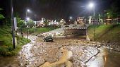 Tote und Verletzte, immenser Sachsschaden: Heftige Unwetter suchen Süddeutschland heim