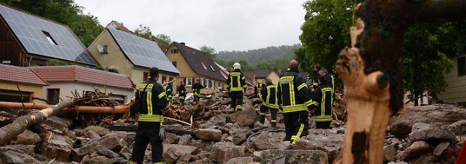 Große Schäden in Baden-Württemberg: Heftige Überschwemmungen im Südwesten - drei Tote
