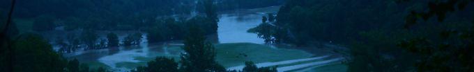 Der Tag: 6:59 Warnung vor Hochwasser um Neckar und Donau