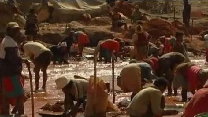 Goldrausch in Madagaskar: Hoffen auf ein besseres Leben