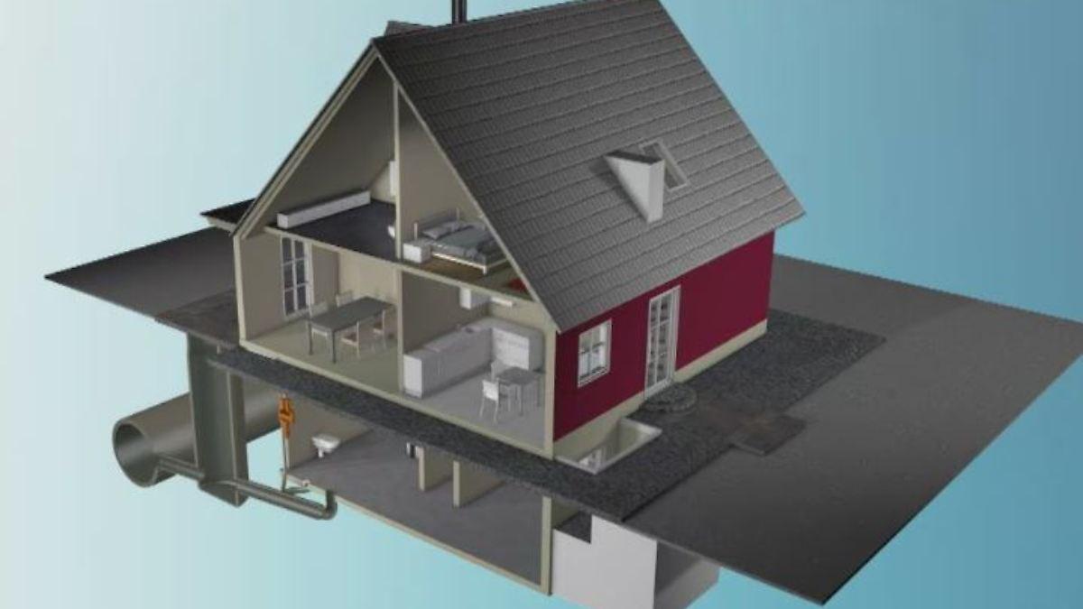 was tun wenn das wasser kommt so sch tzt man die eigenen vier w nde vor hochwasser n. Black Bedroom Furniture Sets. Home Design Ideas