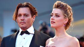Promi-News des Tages: Amber Heard belastet Johnny Depp mit Ausraster-Video
