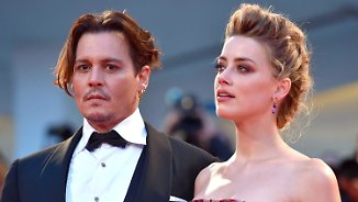 Promi-News des Tages: Amber Heard belastet Johnny Depp mit Ausraster-Video