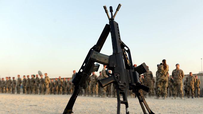 Die meisten Soldaten sind mit dem G36 zufrieden - sowohl in der Bundeswehr als auch in anderen Armeen.