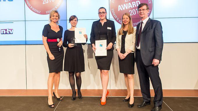 n-tv Ratgeber: Preisträger des Zins-Award 2016 gekürt