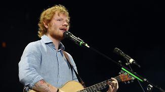 Promi-News des Tages: Ed Sheeran wird auf 20 Millionen Dollar verklagt