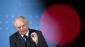 Erfahrener Krisenbewältiger: Wolfgang Schäuble.