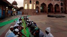 Die Taj-ul-Masajid in Bhopal. Sollen Terroristen das nicht sehen dürfen?