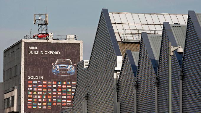 """Die Fabrik von Cowley - ein Industrieviertel am Stadtrand Oxfords. Es ist das selbst ernannte """"Herz des Mini""""."""