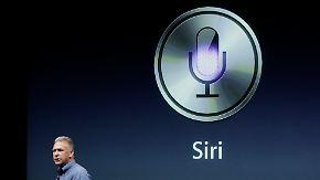 Apple setzt auf Sprachsteuerung: Siri soll Gesprächspartner Nummer eins werden