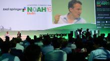 PR-Aktion auf der Noah-Konferenz: Escort-Damen, die nachdenklich stimmen