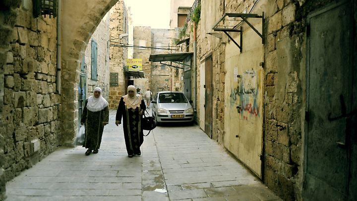 Die Hafenstadt Akko ist im Gegensatz zu anderen israelischen Städten eher beschaulich.