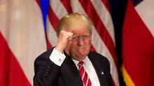 """""""Ein schrecklicher Fehler"""": Trump greift Merkels Flüchtlingspolitik an"""
