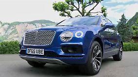 Probefahrt im Spielzeug für Reiche: Luxus-SUV Bentley Bentayga ist ein sportlicher Dampfhammer