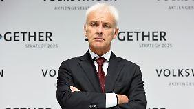"""Neuanfang nach """"Dieselgate"""": VW plant mit """"Strategie 2025"""" den Befreiungsschlag"""