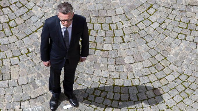 Fordert mehr Kompetenzen für den Bund in der Sicherheitspolitik: Innenminister de Maizière.