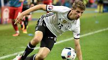 DFB-Elf in der EM-Einzelkritik: Müller platt, Boateng mosert, Neuer ohne Job
