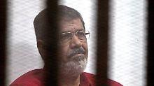 Todesurteil bleibt in Kraft: Mursi erhält lebenslange Haftstrafe