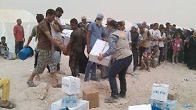 Bis zu 80.000 Menschen auf der Flucht: Rückeroberung von Falludscha verschärft Flüchtlingsdrama