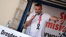 Pegida-Chef zieht Berufung zurück: Bachmann zahlt für Volksverhetzung