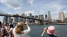 Ein Wahrzeichen verändert sich: Brooklyn Bridge wird ausgebaut